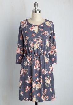 What Goes Around, Calms Around Floral Dress | Mod Retro Vintage Dresses | ModCloth.com
