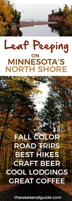 This fall, take a trip up to Minnesota's North Shore, where the leaves are turning fiery colors. Along the way check out our favorite cafes, breweries, coolest lodgings and best waterfalls too. - theweekendguide.com