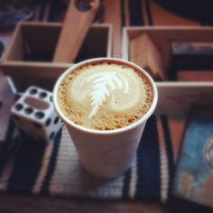 Cup of cappuccino at Broome St General in Silver Lake, CA.