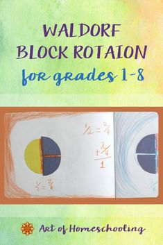 Establish your own yearly rhythm and homeschooling curriculum plan with this outline of the traditional Waldorf block rotation for homeschoolers. So you can customize your homeschool lessons to meet the needs of your children. Waldorf Curriculum, Homeschool Curriculum, Homeschooling, Waldorf Education, Solid Geometry, Curriculum Planning, Inspired Learning, Play Based Learning, Word Problems