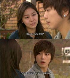 Jung Yong Hwa and Uee in You're Beautiful Uee After School, Jung Yong Hwa, You're Beautiful, Korean Dramas, Kdrama, Addiction, Characters, Figurines, Drama Korea