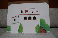 Kirigami - Santa Lucía