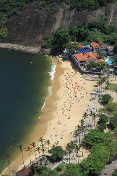 brazilwonders:    Praia Vermelha - Rio de Janeiro (by Micky75017)