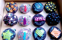 Father's Day Cupcakes #chocolate #cupcakes #ZuckerAmor