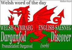 #Welsh Word of the Day: Darganfod/ #Discover