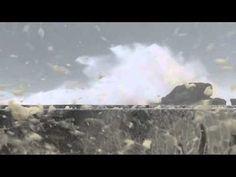 No comment : la tempête Petra à Saint-Guénolé, Finistère