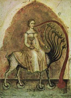 Jacobello Alberegno - Triptych of the Apocalypse (1360-90)