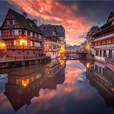 Strasbourg, France. Photo by @ilhan1077 #TourThePlanet