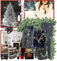 """Christmas in my house"" by milica-b3 ❤ liked on Polyvore"