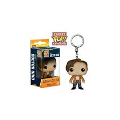 Doctor Who Eleventh Doctor Funko Pop! Keychain (12 CAD) ❤ liked on Polyvore featuring accessories, funko and fob key chain