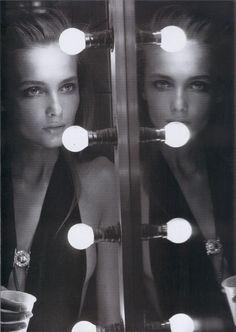 """""""Black body""""Peter Lindbergh Vogue Paris Snejana Onopka"""