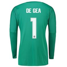 dc7a9f50adc Manchester United Home Cup Goalkeeper Shirt 2018-19 with De Gea 1 printing