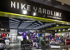 NIKE, Inc. - Adrian Peterson Opens Doors to New Nike Yardline at Champs Sports