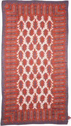 Theodora & Callum Laredo Scarf Orange Multi in Multicolor (Orange Multi) - Lyst