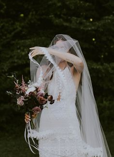 Take a look at Alexandra Lucia Sourbis and Justin Bischoff's dreamy wedding at the Foxfire Mountain House in upstate New York.