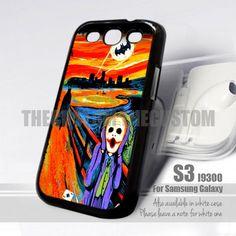 SCREAM BATMAN and JOKER S3 Design for Samsung S3 Fit 9300