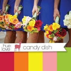 Wedding color palette