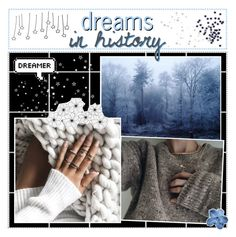 """dreams in history"" by lucidmoon ❤ liked on Polyvore featuring art"