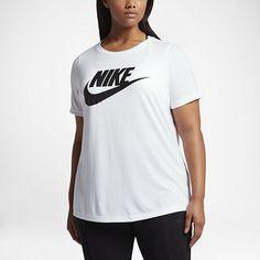 Nike Sportswear Essential - T-shirt til kvinder (plusstørrelse)