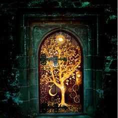 The door to a very important room in The Half-Hearts Trilogy by authoress Kealohilani. Designed by Kealohilani and artwork done by Steven Squire.