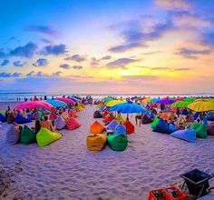 Awesome sunset in Seminyak, Bali. Indonesia. Pay for your experience by Holiday Letting your home. www.rentityourway.com.au