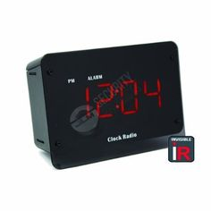 Hidden Camera Night Vision Clock - Mini Spy Camera Built Into a Fully Functional Alarm Clock Radio - Perfect for Office or Home Use as Nanny Cam - IR Infrared Night Vision LED Illuminators are 100% Invisible to the Human Eye - Records to Micro SD Card up to 32GB (4GB Card Included) - No Beeps, Buzzers, or Lights to Give it Away! - Professional Grade Spy Gear by JLM Security Products >>> Want to know more, click on the image.
