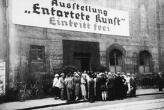 """In the years following Adolf Hitler's rise to power, the Nazis removed over 20,000 artworks from its once progressive state-owned museums. Today marks the 80th anniversary of the defamatory show """"Degenerate Art,"""" held in Munich in 1937 to """"educate"""" the public on the """"art of decay."""" The exhibition proclaimed that modern art concepts, such as abstraction, were the result of genetic inferiority and society's moral decline. Some of the works were later destroyed; others found new homes in museum…"""