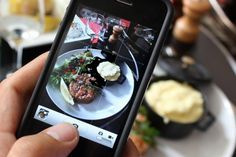 Your Food Porn Pics Might be a Sign of an Eating Disorder | Obsessively Instagramming photos of your meals might be a sign of a problem much bigger than making your followers hungry. The Mental Health chair of the Canadian Obesity Network says there is a link between posting these photos online and a new epidemic of eating disorders. - Foodista.com #foodnews