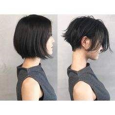 Ulzzang Short Hair, Asian Short Hair, Short Hair Cuts, Tomboy Hairstyles, Undercut Hairstyles, Cute Hairstyles For Short Hair, Levi Haircut, Men Hair Color, Girls Short Haircuts