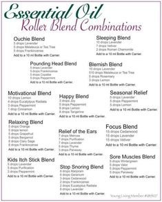 Essential Oil Roller Blend Combinations #Essentialoilrecipes #Essentialoildiffusers #LavenderEssentialOil