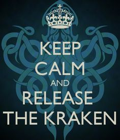 Kraken ~ Clash of the Titans.Also name of my toothy little beagle Cthulhu, Le Kraken, Kraken Squid, Pirate Quotes, Memes Lol, Release The Kraken, Clash Of The Titans, Pirate Life, Friday Humor