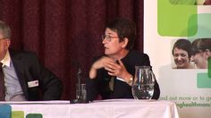 Panel discussion at the Macmillan Cancer Improvement Partnership launch