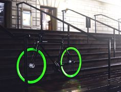Light up your nightly ride with the Hotel #Bike by Pure Fix #Cycles.
