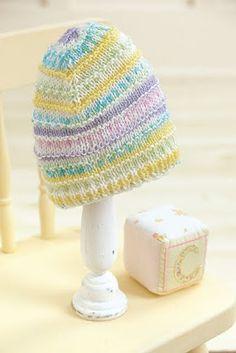 Free Knook Pattern: Ridges Baby Hat | Leisure Arts Blog