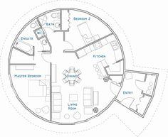 Round House Floor Plans Lovely Floor Plan Mandala Home Ideas Pinterest