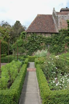 Sissinghurst, once home to novelist Vita Sackville-West and her diplomat husband, Harold Nicolson.  Located in Kent, England.
