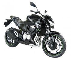 Skynet Aoshima Kawasaki Z800 Black 1/12 Scale Motorcycle Diecast from Japan #Skynet #KAWASAKI