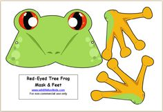 Free Frog Mask for Save the Frog Day! | Wildlife Fun 4 Kids