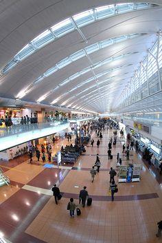 Tokyo International Airport, Terminal 2.