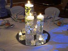 30-ideas-centros-mesa-agua (29) | Ideas para Fiestas de quinceañera - Decórala tu misma