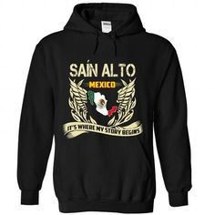 Sain Alto-ITS WHERE MY STORY BEGINS - #shirt dress #striped tee. THE BEST => https://www.sunfrog.com/LifeStyle/Sain-Alto-IT-Black-Hoodie.html?68278