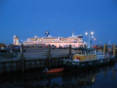 De Friesland na haar laatste vaart van die dag