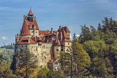 Das Dracula Schloss in Transsilvanien