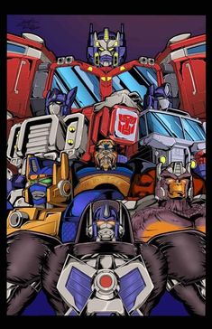 From the Beast era to the Unicron Trilogy Transformers Characters, Transformers Optimus Prime, Graphic Novel Art, Cosmic Art, Classic Cartoons, Cartoon Shows, Anime Fantasy, Wolverines, Manga