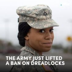The army just lifted a ban on dreadlocks  finally. #news #alternativenews