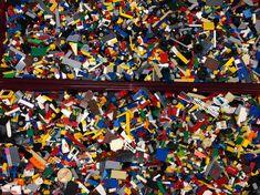 LEGO Small Transparent Bricks /& Pieces Approx 350 Parts 100/% Genuine RARE