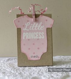 Baby Onesie, Baby Onesie Die-namics, Paper Bag Treat Box Die-namics, Swiss Dot Stencil - Melody Rupple #mftstamps