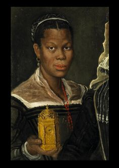 "Annibale Carracci, ca. Portrait of an African Slave Woman. Princeton University Art Museum Opens ""Revealing the African Presence in Renaissance Europe"" Exhibit on February European History, Black History, Art History, History Projects, African History, African Art, African Women, African Prints, African Style"