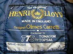 Henri Lloyd large woven label