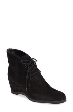 THE FLEXX 'Best Friend' Suede Wedge Bootie (Women) available at #Nordstrom
